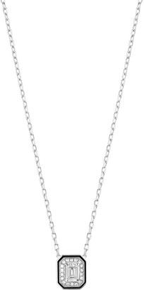Boucheron 18kt white gold diamond Lisere pendant necklace