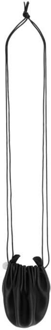 Ann Demeulemeester Black Mini Pouch Necklace