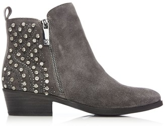 Moda In Pelle Karinna Dark Grey Suede