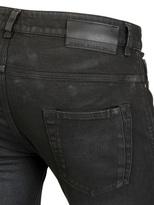 Diesel Black Gold 17cm Superbia Rubber Coated Denim Jeans