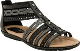 Earth Bay Women US 9 Black Gladiator Sandal
