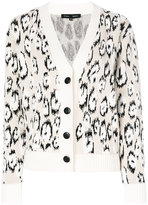 Proenza Schouler long sleeve cardigan - women - Polyester/Viscose/Virgin Wool - XS