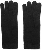 Johnstons of Elgin Cashmere Gloves - Black