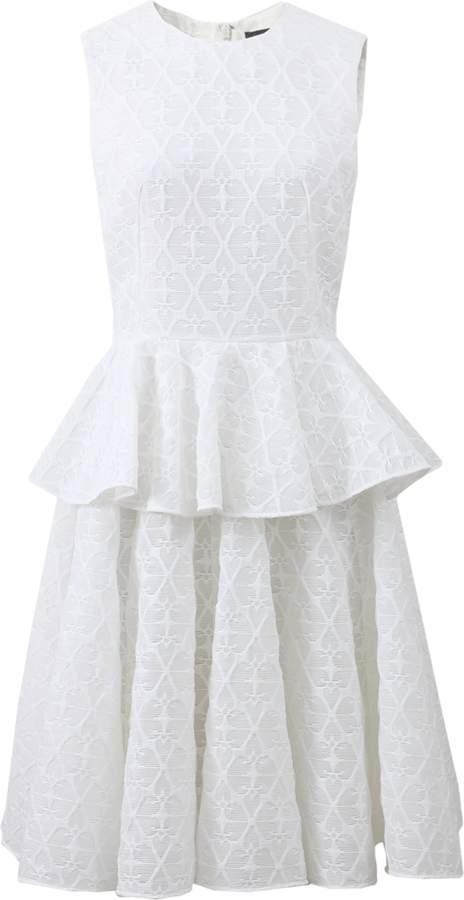 Alexander McQueen Peplum Dress