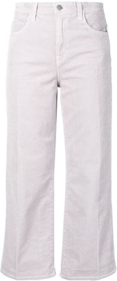 J Brand Flared Corduroy Trousers