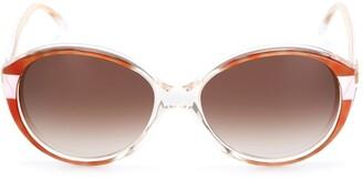 Balenciaga Pre Owned Round Frames Sunglasses