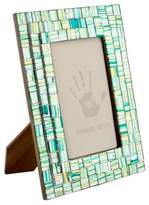 Handmade Mosaic Glass Photo Frame (4x6), 'Summer Memories'