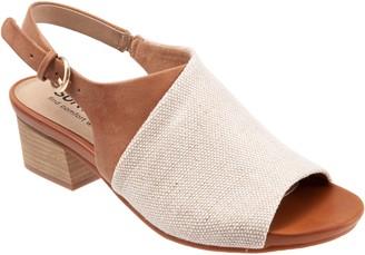SoftWalk Adjustable Sling Sandals - Pomona
