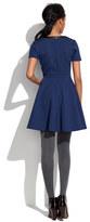 Madewell Leather-Trim Dress