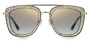 Jimmy Choo Women's 53MM Glossy Glitter Sunglasses