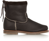 Penelope Chilvers Zuri shearling-lined leather boots