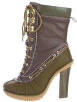KORS Leather Rain Ankle Boots