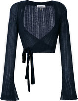 Dondup wrap cardigan