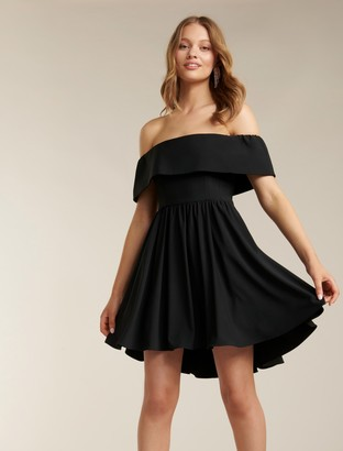 Ever New Tara Off-Shoulder Prom Dress