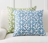 Pottery Barn Shadow Trellis Pillow Cover