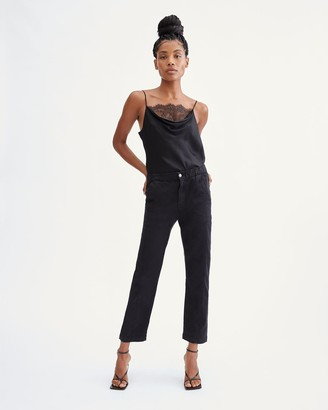 7 For All Mankind Slim Jogger in Black