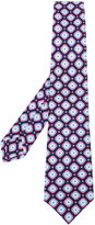 Kiton embroidered tie