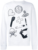 Vivienne Westwood printed sweatshirt - men - Cotton - L