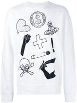 Vivienne Westwood printed sweatshirt - men - Cotton - S