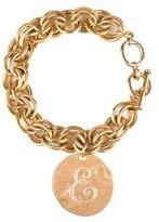 Beaucoup Designs Bracelet Chain Gold Monogram E