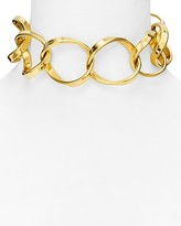 """Vita Fede Cosimo Chain Choker Necklace, 13"""""""