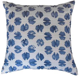 One Kings Lane Ali Pillow - Blue - 18x18