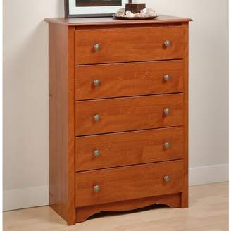 Andover Mills Hayman 5 Drawer Chest Color: Cherry