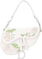 Christian Dior pre-owned embroidered Saddle bag