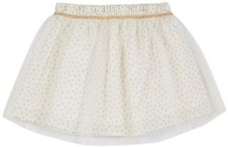 3 Pommes Baby Girl Skirt Broken White
