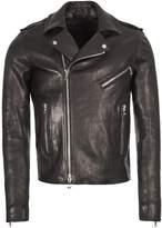Balmain Leather Jacket - Black