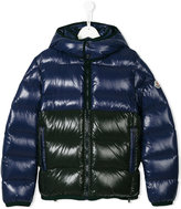 Moncler teen hooded padded jacket - kids - Feather Down/Polyamide - 14 yrs
