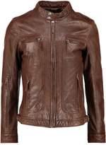 Oakwood Casey Leather Jacket Cognac