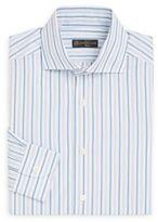 Corneliani Regular-Fit Striped Cotton Dress Shirt