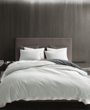 Vera Wang Waffle Pique King Comforter Set Bedding