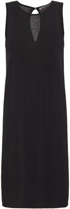 Gentryportofino Metallic Textured-knit Mini Dress