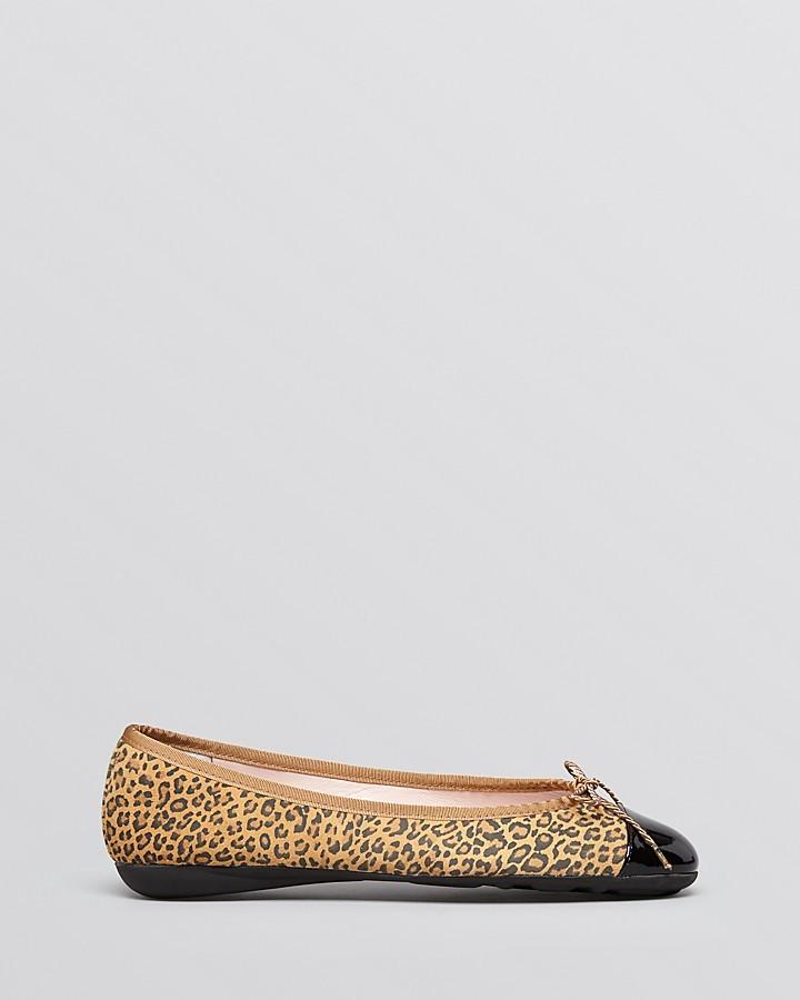 Paul Mayer Ballet Flats - Brandy Leopard Print