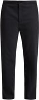 Acne Studios Pace drawstring-hem straight-leg wool trousers