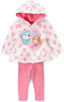 Children's Apparel Network PAW Patrol White Paw Hooded Pullover & Pink Leggings - Infant