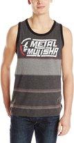 Metal Mulisha Meta Muisha Men's Drift Striped Tank Top-arge