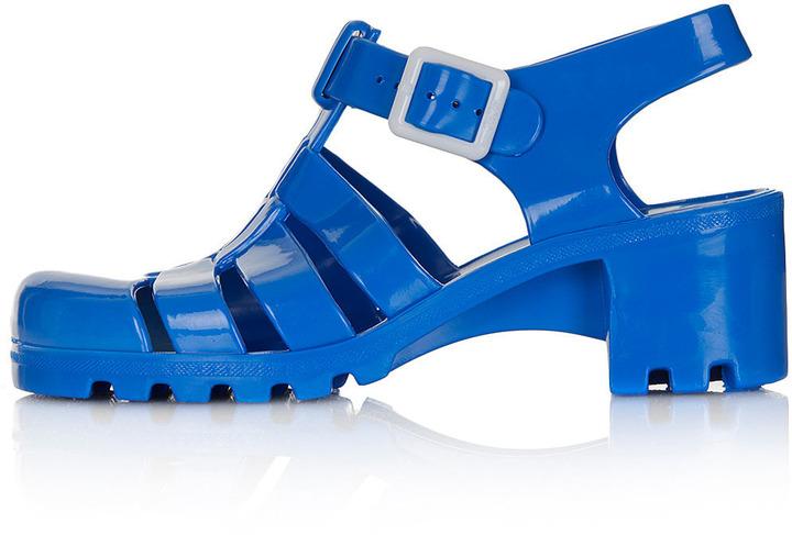 Topshop NINA2 Heel Jelly Sandals