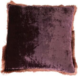 Anke Drechsel Raw Edge Velvet Cushion