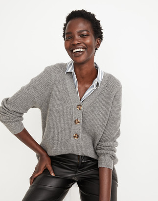 Madewell Ribbed Lyle Henley Sweater