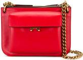 Marni Trunk bi-colour cross body bag - women - Leather - One Size