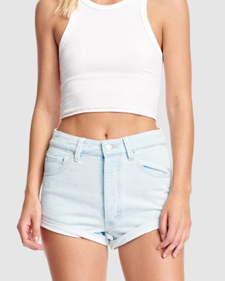 RES Denim Women's Blue Shorts - Andy Short - Size One Size, 26 at The Iconic