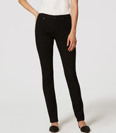 LOFT Tall Curvy Straight Leg Jeans in Black