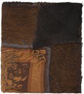 Avant Toi fauna & flora print scarf