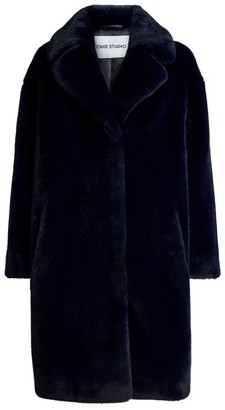Stand Camille Faux Fur Teddy Coat