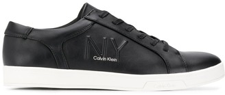 Calvin Klein Embossed Low-Top Sneakers