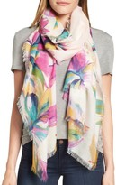 Nordstrom Women's Birds In Flight Cashmere & Silk Scarf