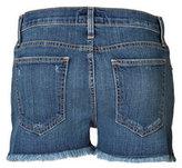 Current/Elliott Denim Shorts with Frayed Hem